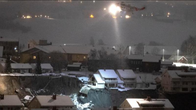 Norvegji: Gjendet trupi i tretë pas rrëshqitjes së dheut, shtatë të tjerë mbeten të zhdukur
